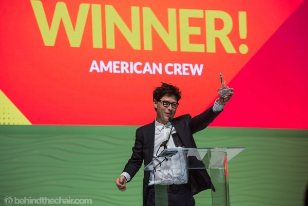 American Crew - победитель Stylist Choice Awards!